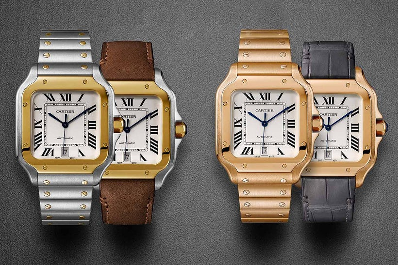 e1535f0f5f0c8 Cartier Santos Influential Collection | Buyers of New York